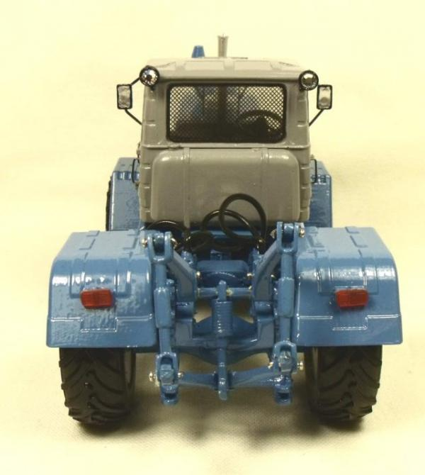 Трактор Т-150К (Миниград) [1974г., Серый и синий, 1:43]