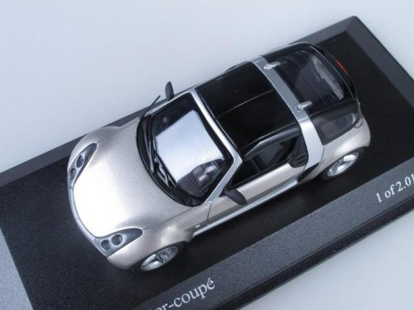 Smart roadster - Coupe (Minichamps) [2003г., Серый, 1:43]