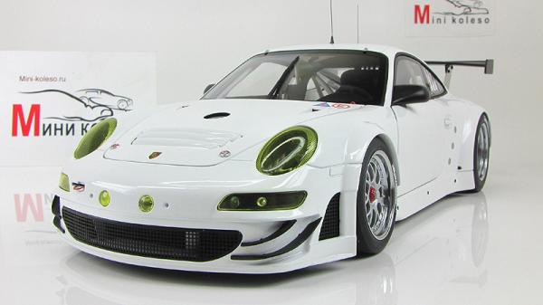 PORSCHE 911(997) GT3 RSR 2010 PLAIN BODY VERSION (Autoart) [2010г., Белый, 1:18]