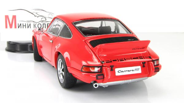 Porsche 911 Carrera RS 2.7 1973 orange standart version (Autoart) [1973г., Оранжевый, 1:18]