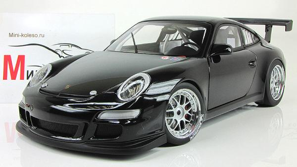 PORSCHE 911 (997) GT3 CUP PLAIN BODY VERSION (Autoart) [2010г., Черный, 1:18]
