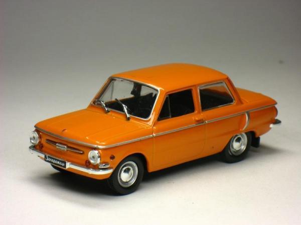 ЗАЗ-968А (DeAgostini (Автолегенды СССР)) [1972г., Оранжевый, 1:43]