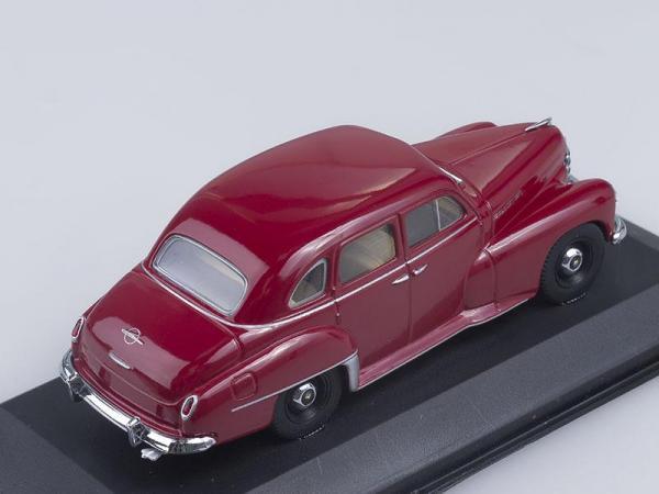 Opel Kapitan (Minichamps) [1951г., Вишневый, 1:43]