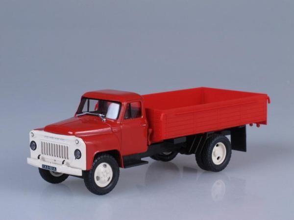 ГАЗ-53А (Наш Автопром) [1965г., Красный, 1:43]