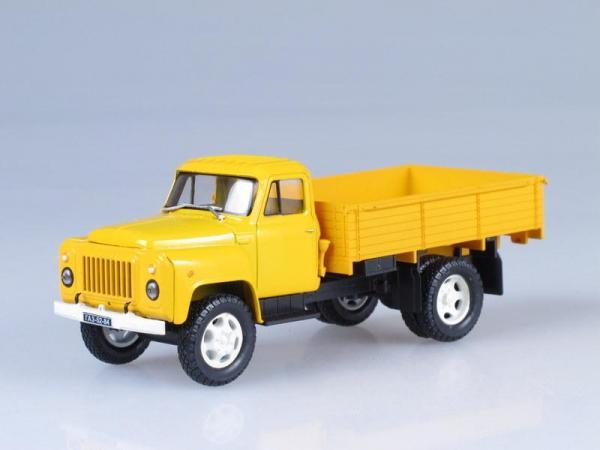 ГАЗ-52-84 (Наш Автопром) [1966г., Желтый, 1:43]