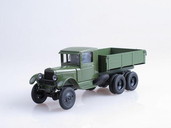 ЗиС-36, бортовой (Наш Автопром) [1941г., Зеленый, 1:43]