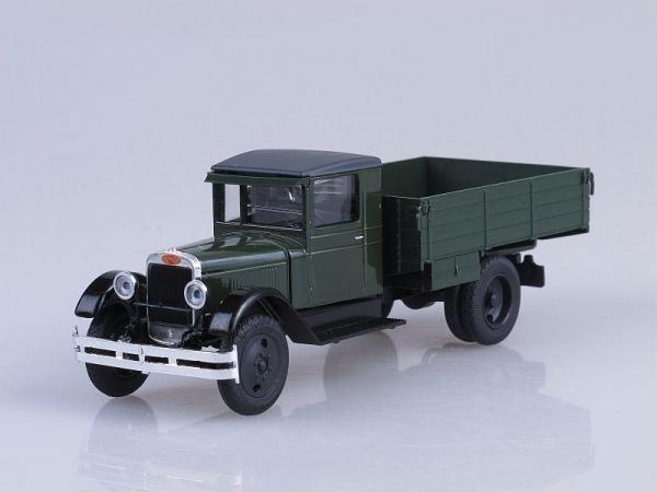 ЗИС (АМО)-3, бортовой (Наш Автопром) [1931г., Зеленый, 1:43]