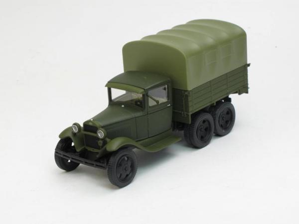 ГАЗ-ААА с тентом (Наш Автопром) [1936г., Хаки, 1:43]
