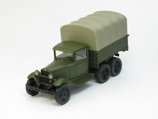 ГАЗ-ААА с тентом (Наш Автопром) [1936г., Хаки-серый, 1:43]