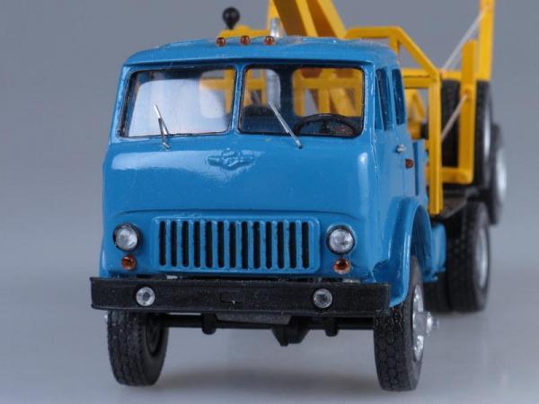 МАЗ-509 лесовоз (D.N.K.) [1966г., Желто-голубой, 1:43]