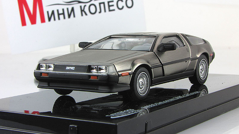 Delorean DMC12 (Vitesse) [1981г., стальной, 1:43]