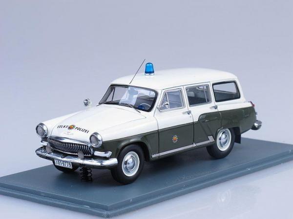 ГАЗ-22 Volkspolizei polizei (Neo Scale Models) [1962г., Белый, хаки, 1:43]