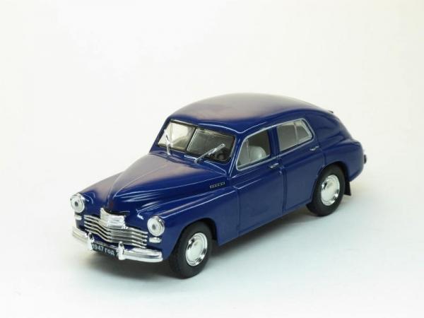 ГАЗ-М20 Победа, 2-я серия (Наш Автопром) [1948г., Темно-синий, 1:43]
