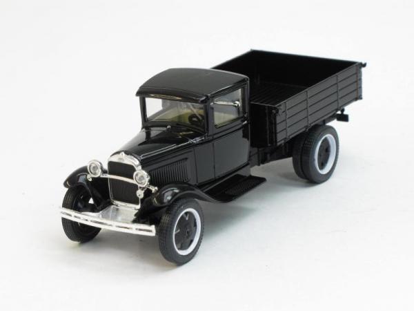 ГАЗ-АА (Наш Автопром) [1932г., Черный с хромом, 1:43]