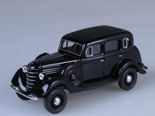 ГАЗ 61-72 (Наш Автопром) [1941г., Черный, 1:43]