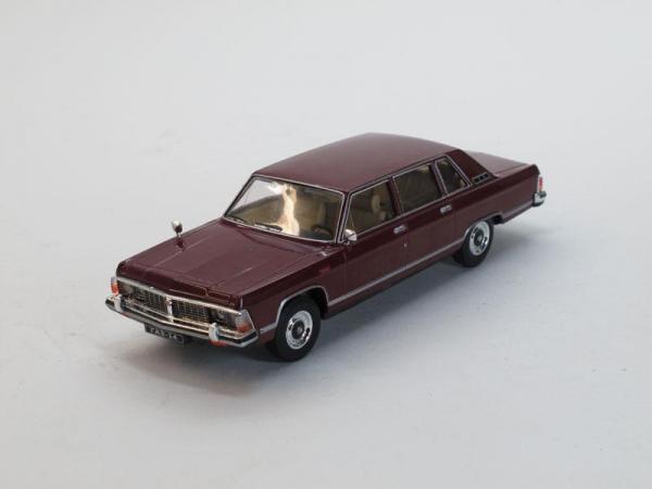 ГАЗ-14 Чайка (Наш Автопром) [1977г., Вишневый, 1:43]