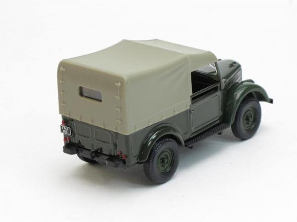 ГАЗ-69 с тентом (Наш Автопром) [1952г., Темно-зеленый, 1:43]