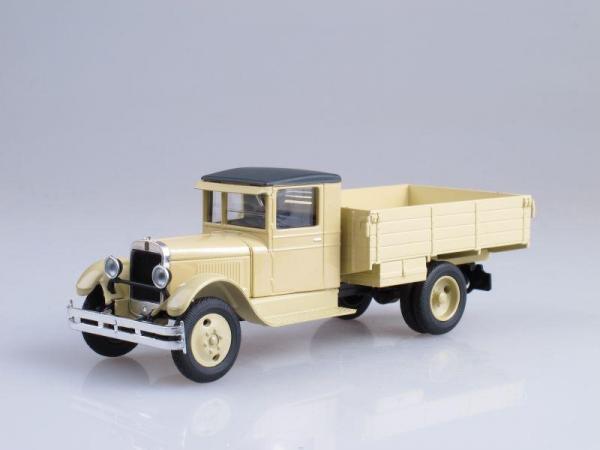 ЗиС-5, бортовой (Наш Автопром) [1933г., Бежевый, 1:43]