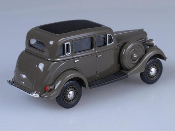 ГАЗ 61-72 (Наш Автопром) [1941г., Оливковый, 1:43]