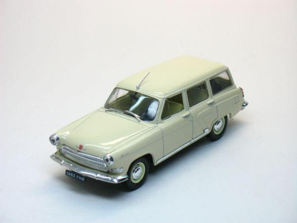 ГАЗ-22 «Волга» (Наш Автопром) [1962г., Песочный, 1:43]