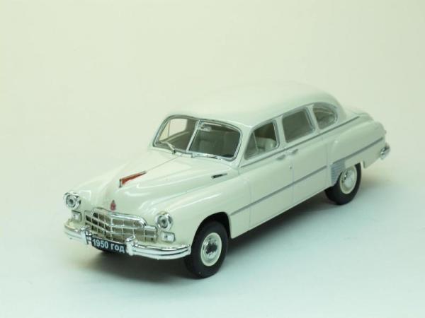 ГАЗ-12 «ЗиМ» (Наш Автопром) [1950г., Кремовый, 1:43]