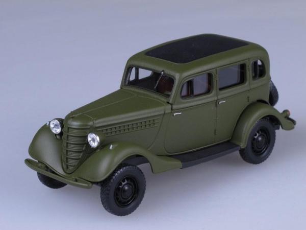 ГАЗ 61-73 (Наш Автопром) [1941г., Зеленый, 1:43]