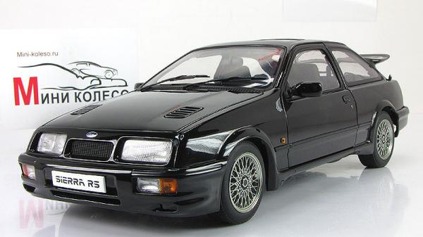 FORD SIERRA RS COSWORTH (Autoart) [1986г., Черный, 1:18]