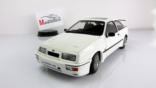 FORD SIERRA RS COSWORTH (Autoart) [1986г., Белый, 1:18]