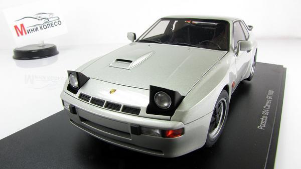 PORSCHE 924 CARRERA GT (Autoart) [1980г., Серебристый, 1:18]