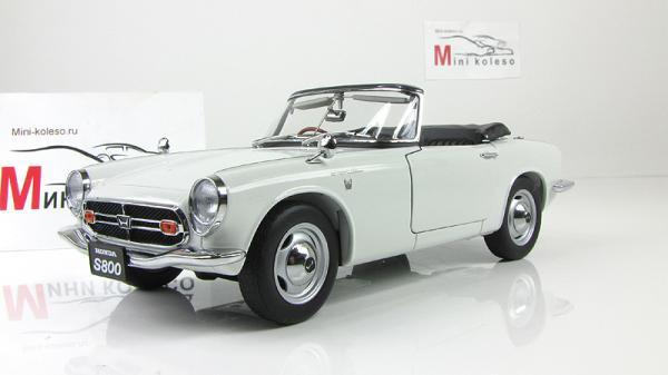 HONDA S800 ROADSTER (Autoart) [1966г., Белый, 1:18]