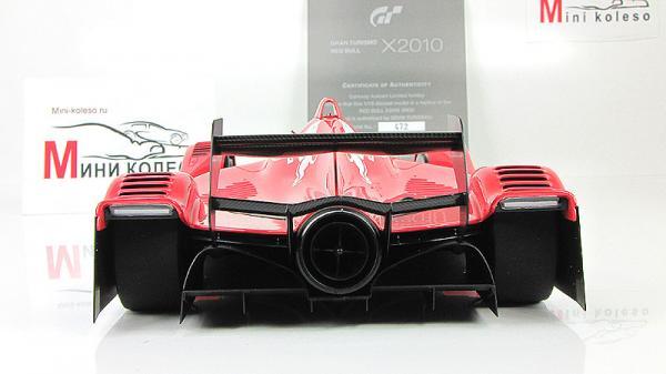 RED BULL X2010 (Autoart) [2010г., Красный, 1:18]