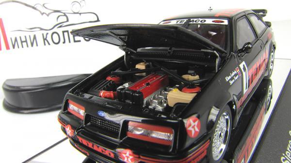 "Ford Sierra RS500 Cosworth 1987 Groop A ""Texaco"" LudwigsSoper (Autoart) [1987г., Черный, 1:43]"