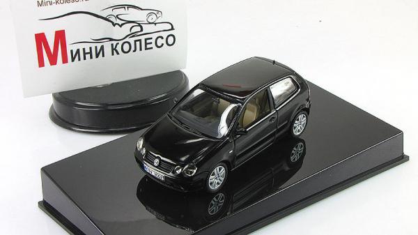 VOLKSWAGEN POLO (Autoart) [2009г., Черный, 1:43]