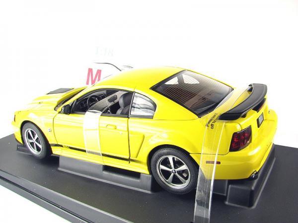 FORD MUSTANG MACH I (Autoart) [2004г., Желтый/черный, 1:18]