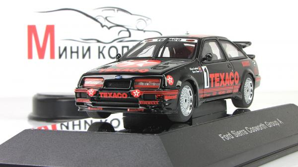 "Ford Sierra RS500 Cosworth 1987 Groop A ""Texaco"" LudwigsSoper (Autoart) [1987г., Черный, 1:43]"