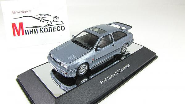 FORD SIERRA RS COSWORTH (Autoart) [1987г., Серо-голубой металлик, 1:43]