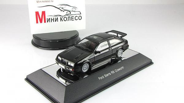FORD SIERRA RS (Autoart) [1987г., Черный, 1:18]