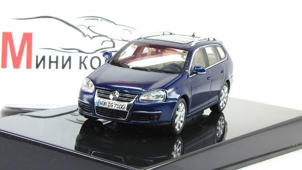 Volkswagen Golf V (Autoart) [1993г., Синий, 1:43]