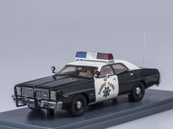 Dodge Monaco California Highway Patrol (Neo Scale Models) [1978г., Черный и белый, 1:43]