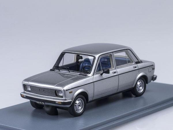 Fiat 128 1100 CL (Neo Scale Models) [1976г., Серебристый металлик, 1:43]