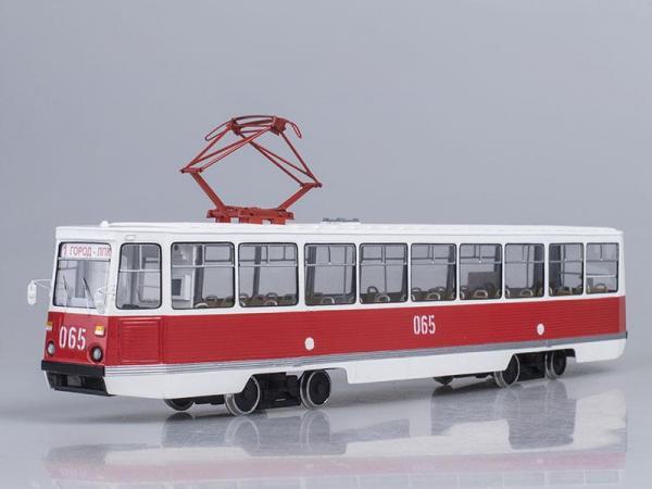 КТМ 71-605А (Vector-Models) [1969г., Белый с красным, 1:43]