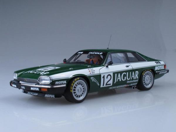 Jaguar XJ-S №12 TWR Racing ETCC Spa·Francorchamps Winner (Autoart) [1975г., Темно-зеленый, 1:18]