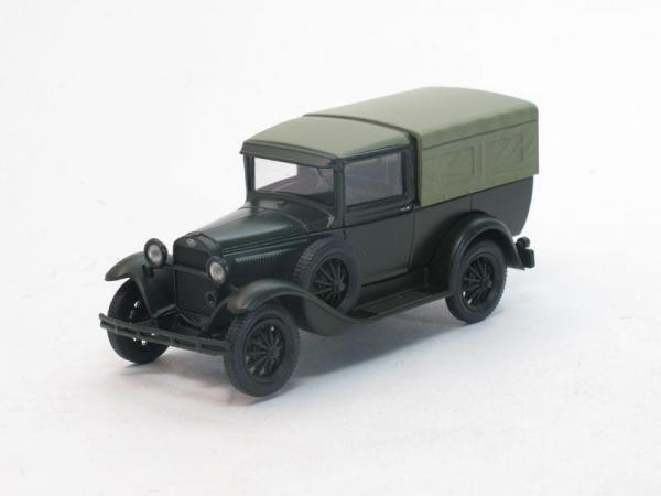 ГАЗ-4 c тентом (Наш Автопром) [1933г., Зеленый, 1:43]
