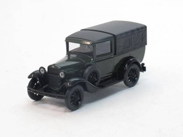 ГАЗ-4 c тентом (Наш Автопром) [1933г., Зеленый и черный, 1:43]