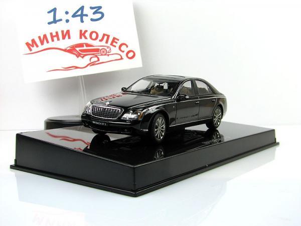 MAYBACH 57 S (Autoart) [2005г., Черный, 1:43]