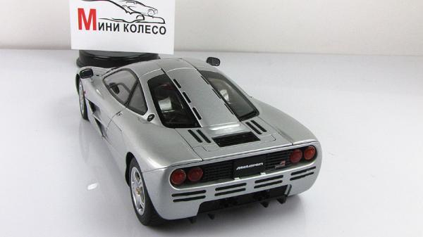 McLaren F1 (Autoart) [1994г., Серебристый, 1:18]