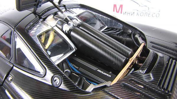 MCLAREN F1 STEALTH MODEL - GRAN TURISMO GT5 (Autoart) [1998г., Черный, 1:18]