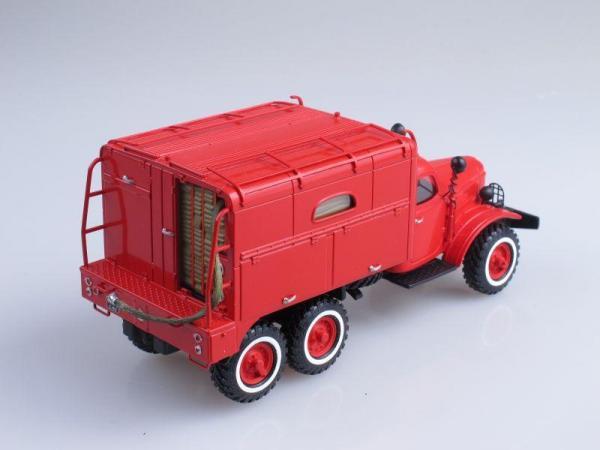 Рукавный автомобиль АР-2 на шасси ЗИЛ-157К (СарЛаб) [1966г., Красный, 1:43]
