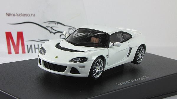 LOTUS EUROPA S (Autoart) [2006г., Белый, 1:43]