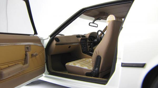 MAZDA SAVANNA RX-7 (SA) - AURORA (Autoart) [1978г., Белый, 1:18]